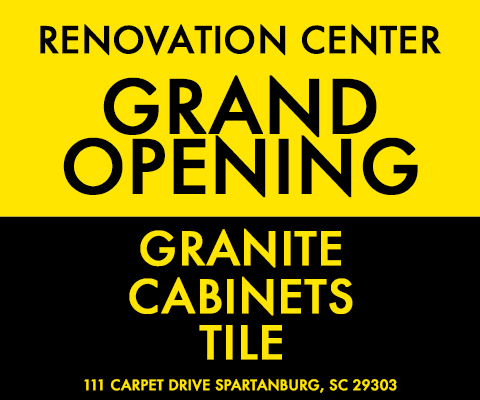 Renovation Center Grand Opening Banner