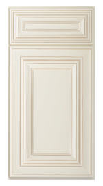 Kitchen Cabinets or Bathroom Vanities Charleston Series in Antique White
